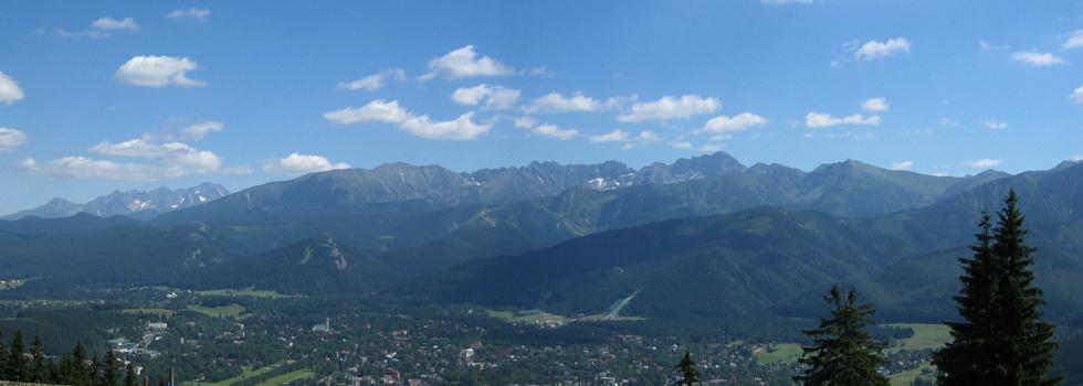 Wakacje w górach - Zakopane