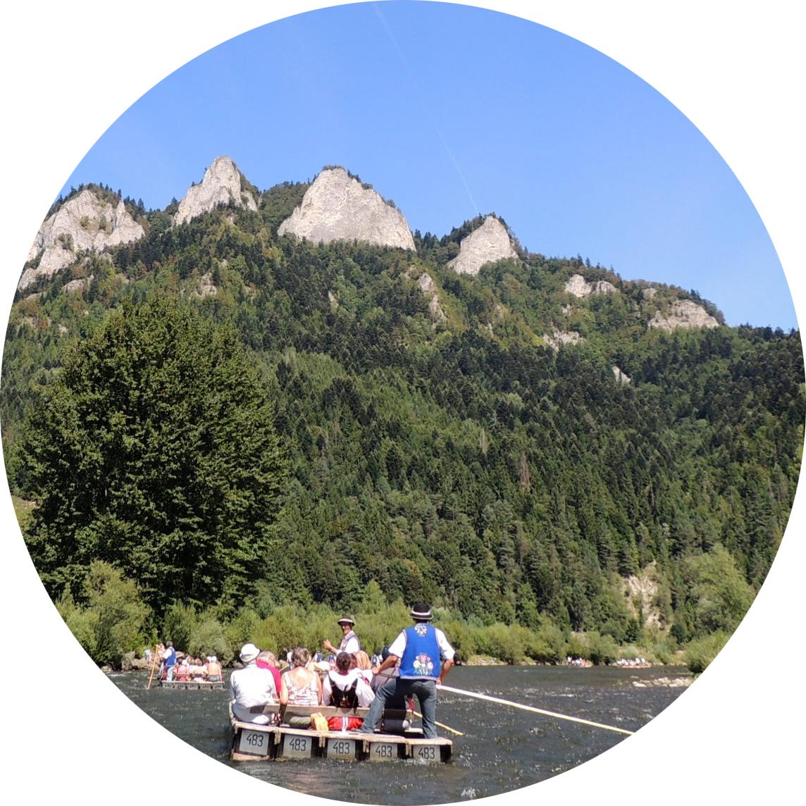 Wyjazdy firmowe - spływ Dunajcem lub rzeką Białką