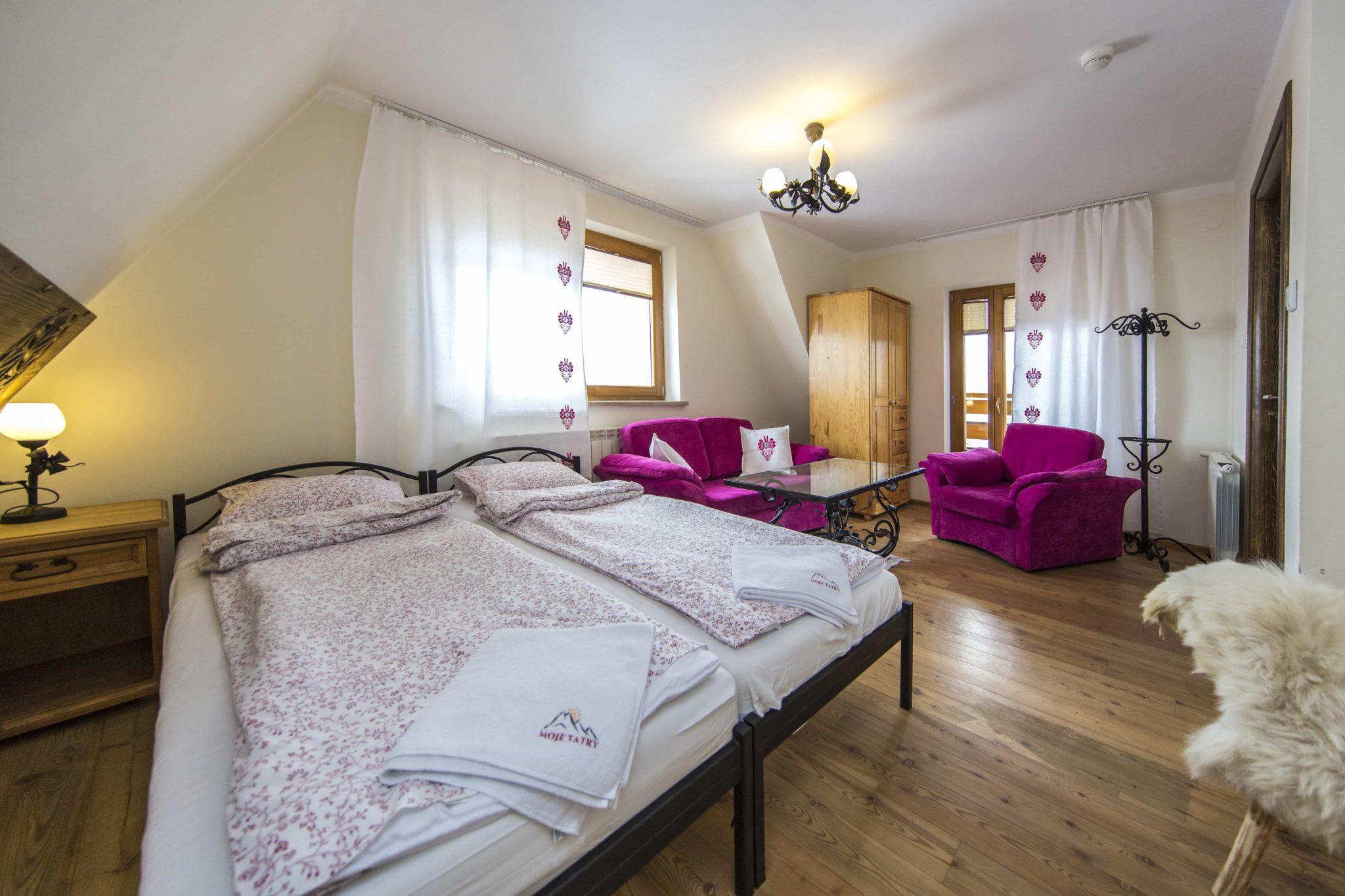 Biały Dunajec pokoje w pensjonacie w górach