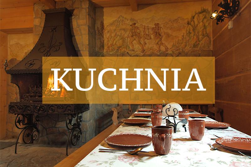 Biały Dunajec noclegi - kuchnia w pensjonacie Moje Tatry