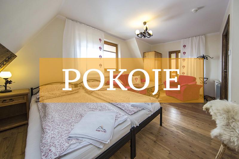 Biały Dunajec noclegi - pokoje w pensjonacie Moje Tatry