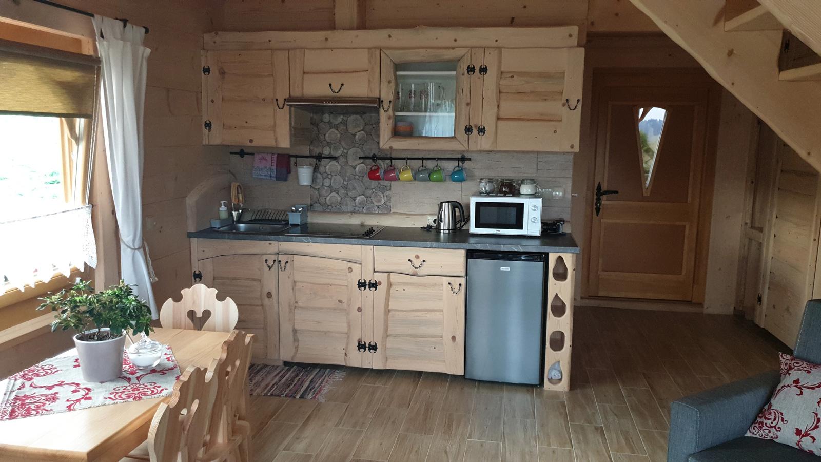 domek tatry kuchnia