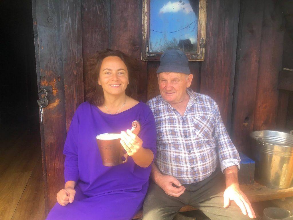 Bezglutenowy Pensjonat Moje Tatry - gospodyni w bacówce